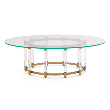 BEVERLY ROUND COCKTAIL TABLE, , hi-res