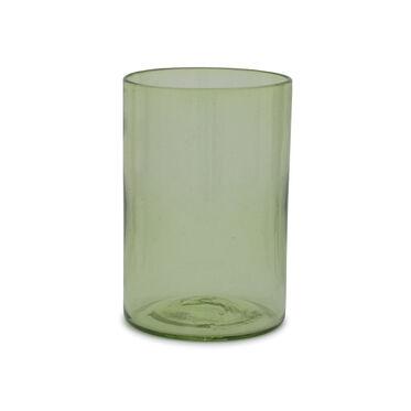 GREEN TEA SHORT CYLINDER VASE, , hi-res