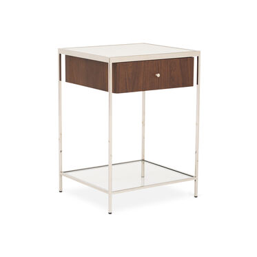 MANNING SIDE TABLE NIGHTSTAND - WALNUT, , hi-res