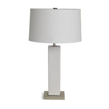 RUBIX LILY WHITE TABLE LAMP, , hi-res