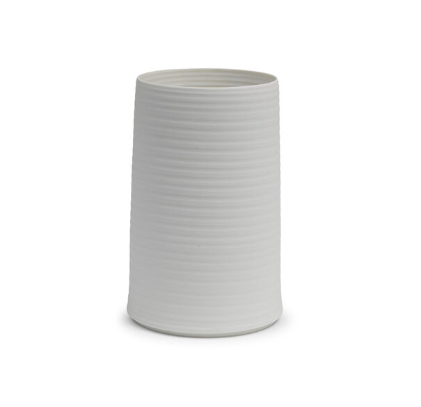 COLD MOUNTAIN SMALL BISQUE VASE, , hi-res