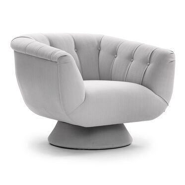 VIVIEN MOTION SWIVEL CHAIR, KESWICK - SILVER, hi-res