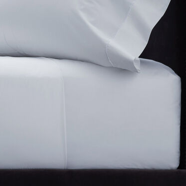 QUEEN FITTED SHEET - WHITE, , hi-res