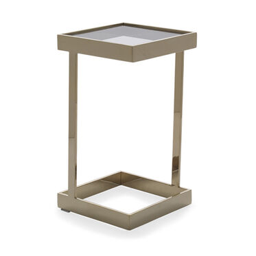 DAX SQUARE PULL-UP TABLE - BRASS, , hi-res