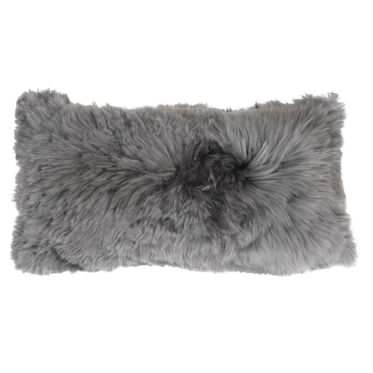 "ALPACA 22"" SILVER PILLOW, , hi-res"