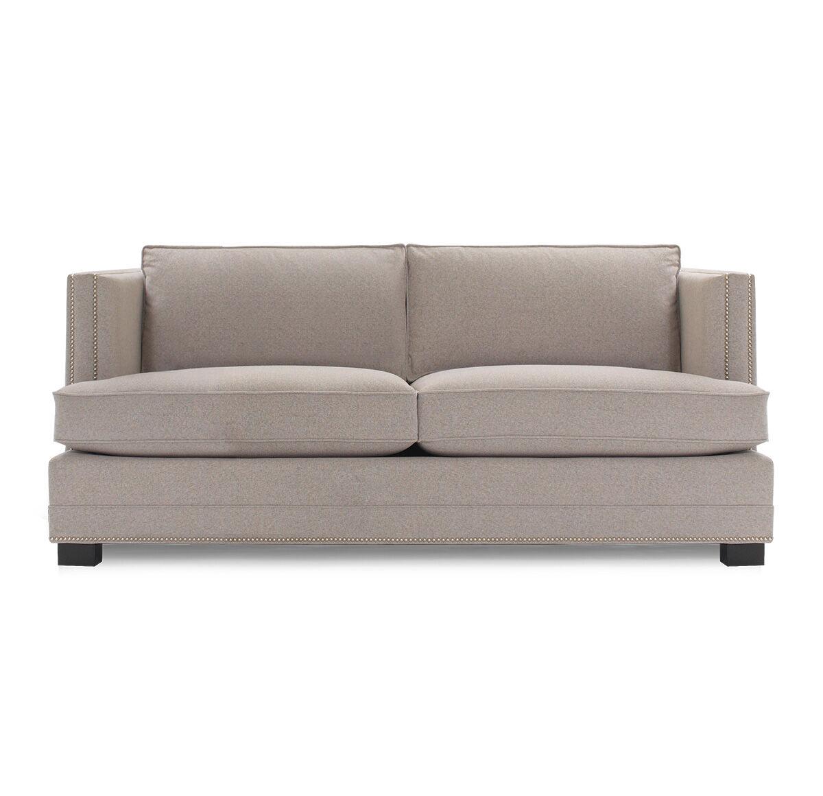 Bobs Furniture Sleeper Sofa #34: KEATON LUXE QUEEN SLEEPER, FULMER - TAUPE, Hi-res