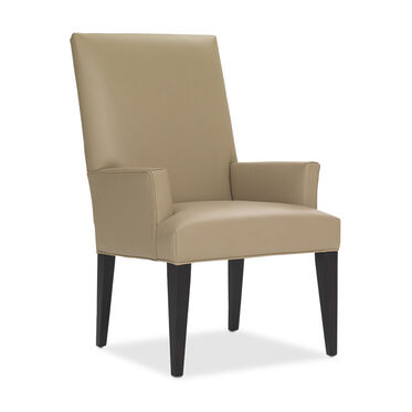 ANTHONY LEATHER TALL ARM CHAIR, , hi-res