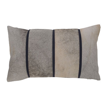 LINEAR HIDE PILLOW, , hi-res