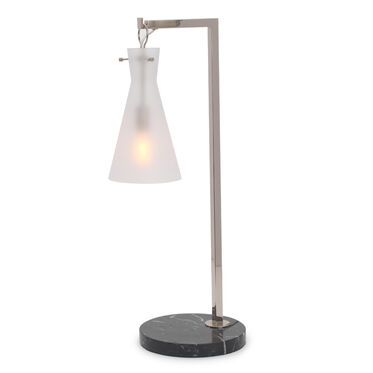 FOSSE ACCENT LAMP - POLISHED NICKEL, , hi-res