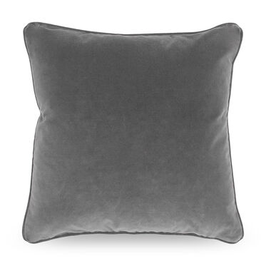 "PILLOW 21"" SQUARE, AVIGNON - GRAPHITE, hi-res"