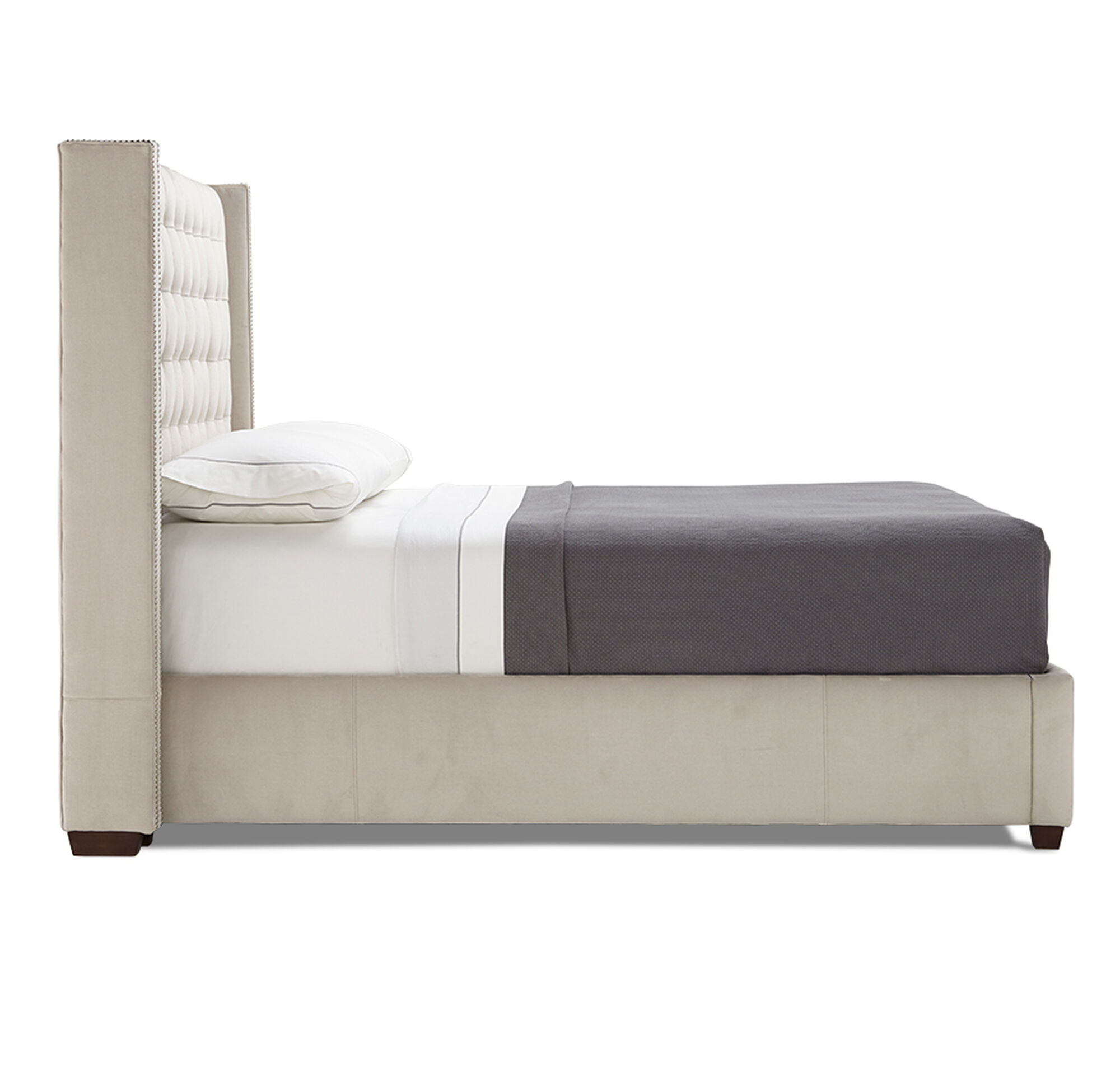 theodore tall king floating rail bed