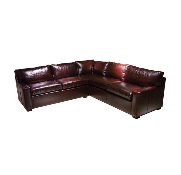 ALEX LEATHER SECTIONAL, , hi-res