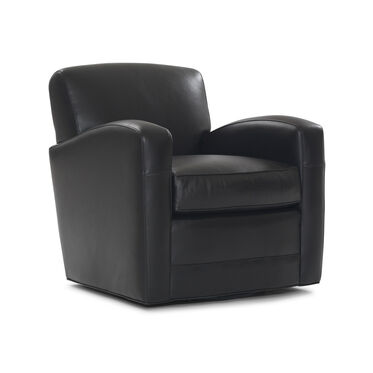 ELLIS LEATHER SWIVEL CHAIR, , hi-res
