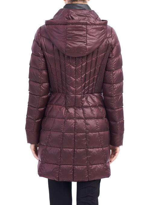B by Bernardo Packable Jacket, Purple, hi-res