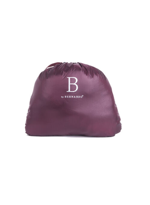 Bernardo Packable Quilted Jacket, Purple, hi-res