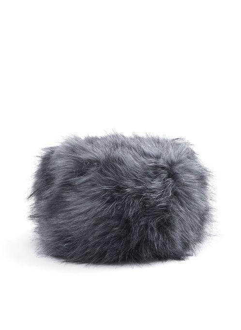 Faux Fur Hat, Grey, hi-res