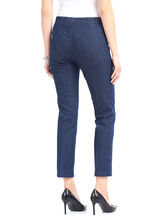 Linea Domani Denim Leggings, Blue, hi-res