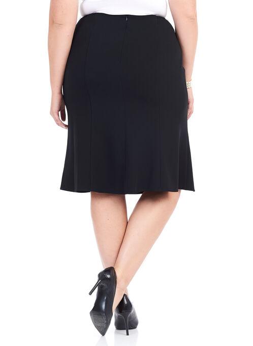 Louben Trumpet Skirt , Black, hi-res