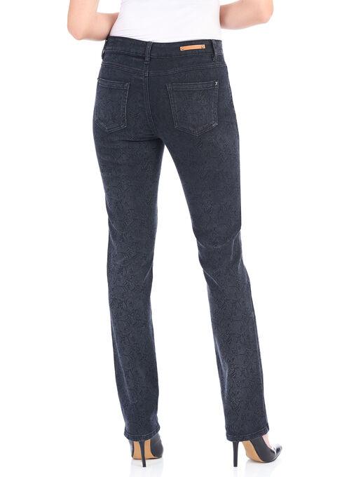 Simon Chang Straight Leg Pants , Black, hi-res
