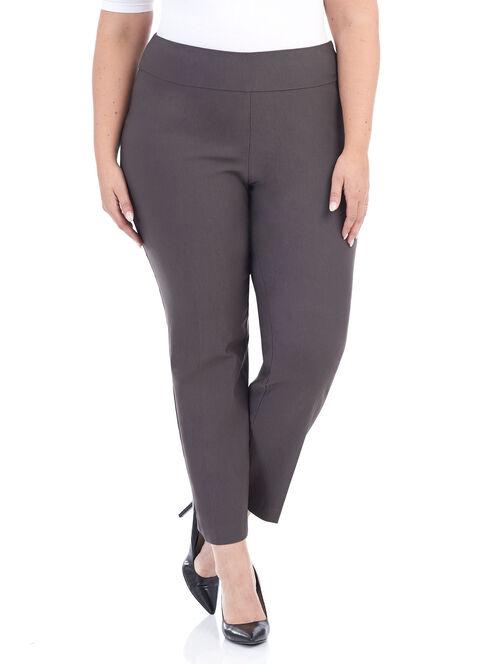 Pull-On Techno Pants, Grey, hi-res
