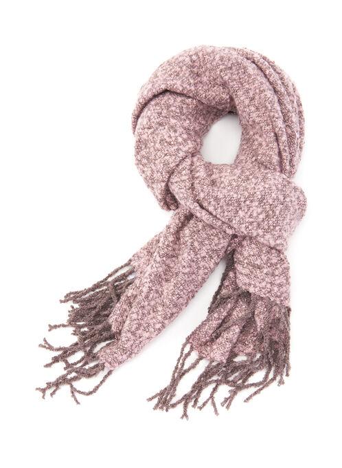 Oblong Blanket Scarf, Pink, hi-res