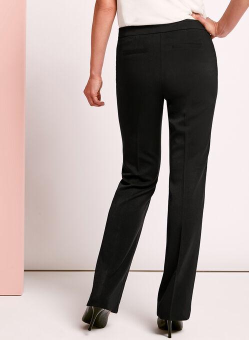 Modern Fit Straight Leg Pant, Black, hi-res
