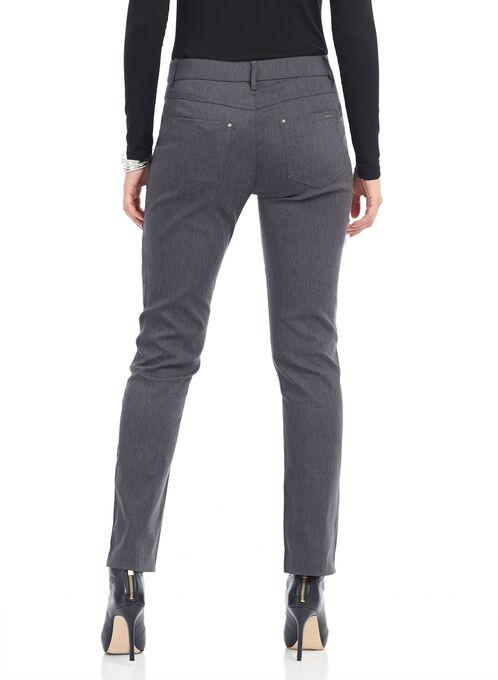 Simon Chang Straight Leg Pants , Grey, hi-res