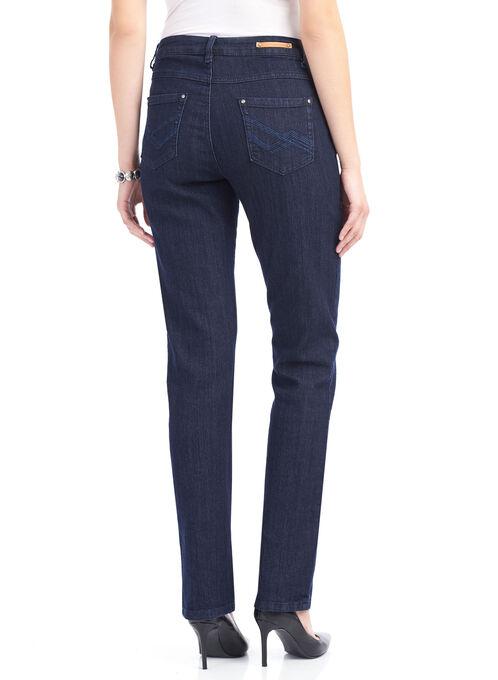 Simon Chang Straight Leg Pants , Blue, hi-res