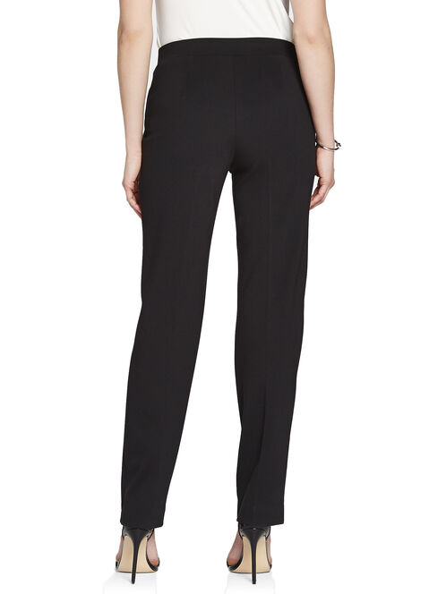Modern Fit Tummy Control Straight Leg Pants, Black, hi-res