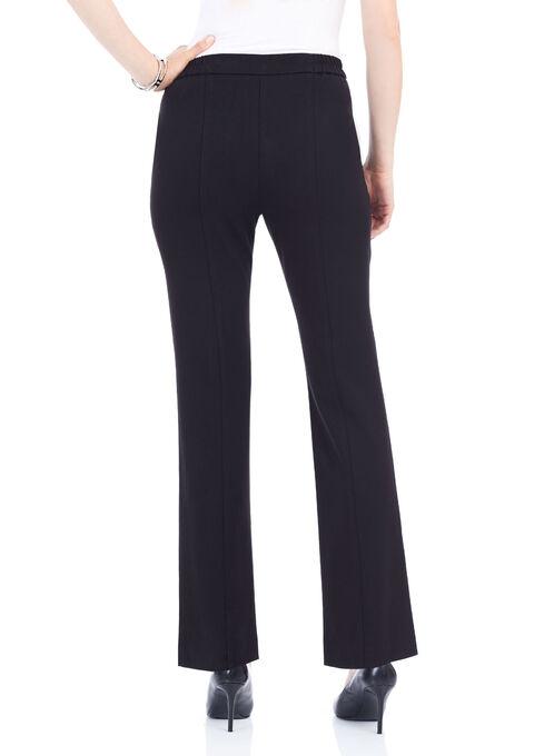 Signature Fit Slim Leg Pants , Black, hi-res