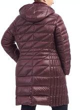 Bernardo Packable Down Blend Jacket, Purple, hi-res