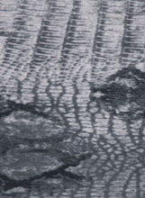 Tribal Print Loop Scarf , Grey, hi-res