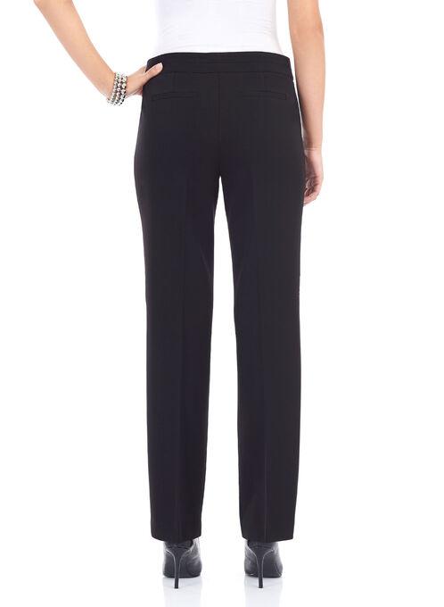 Slim Leg Tummy Control Pants, Black, hi-res