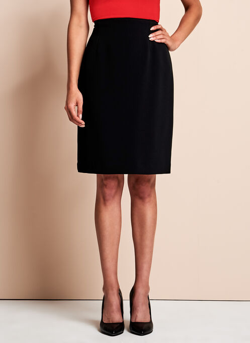 Louben Pencil Skirt, Black, hi-res