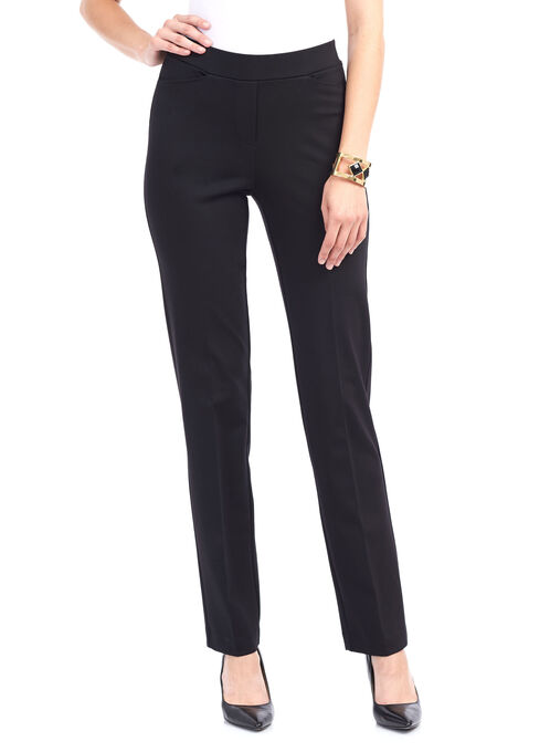 Trisisto Straight Leg Pants , Black, hi-res