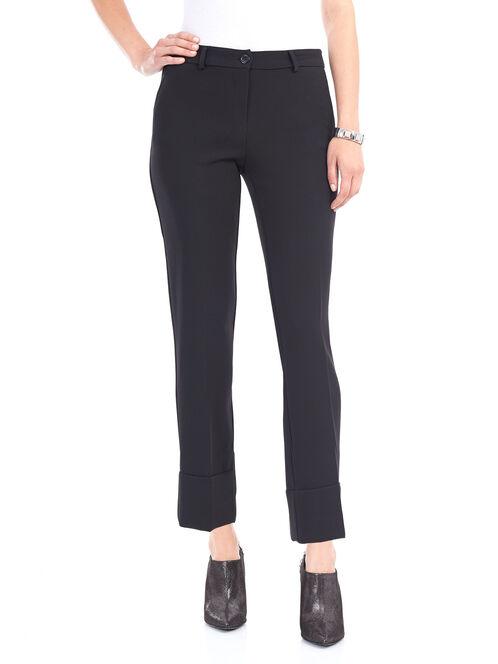 Slim Leg Pants, Black, hi-res