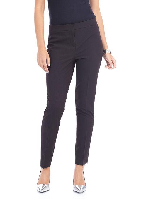 Plaid Slim Leg Pants, Multi, hi-res