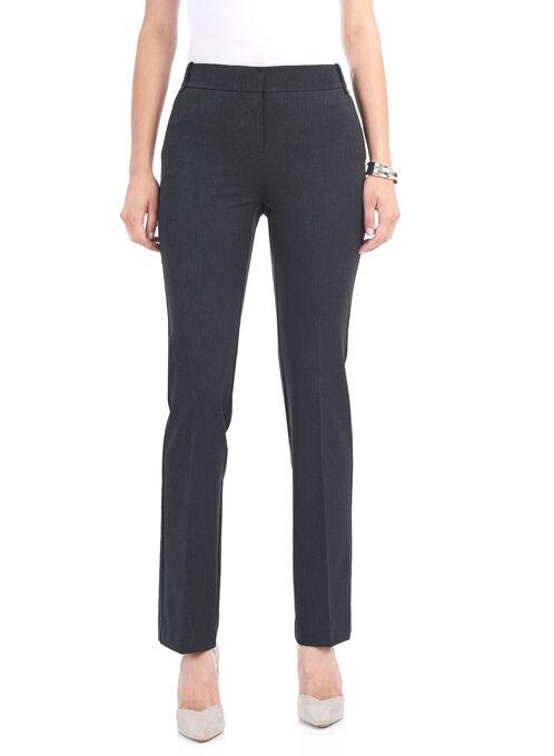 Slash Pocket Straight Leg Pants, Grey, hi-res