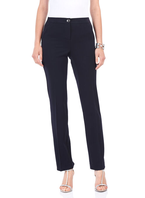 Reese Pocket Straight Leg Pants, Blue, hi-res