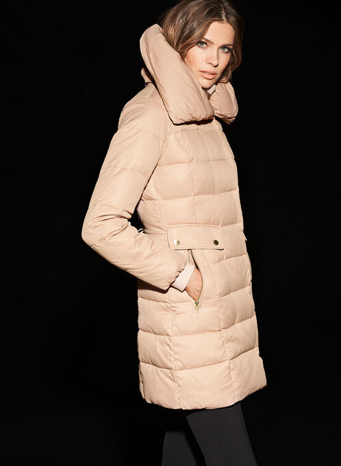 Cole Haan Signature Down Coat, Pink, hi-res