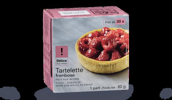 Tartelette framboise, 1 part