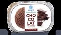 Crème glacée chocolat, avec pépites de chocolat