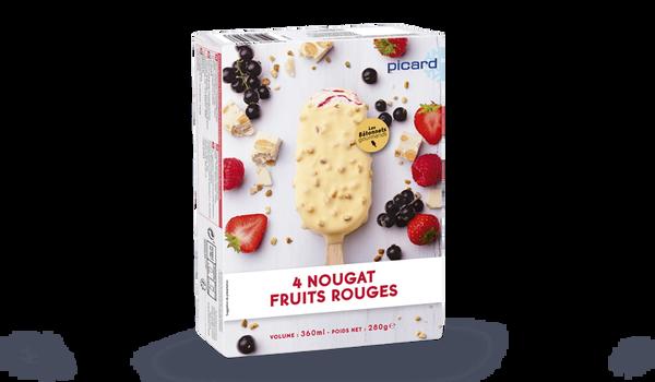 4 Best nougat fruits rouges