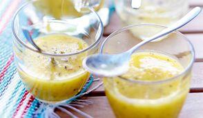 Soupe de fruits exotiques, poivre Timut
