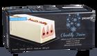 Bûche glacée chantilly-fraise