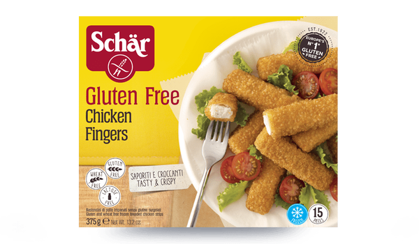Chicken fingers sans gluten