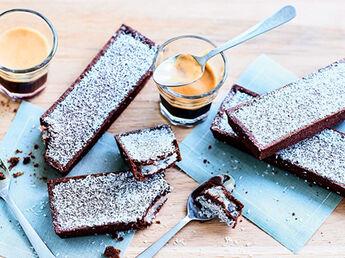 8 mini-roulés chocolat-noisette, à cuire