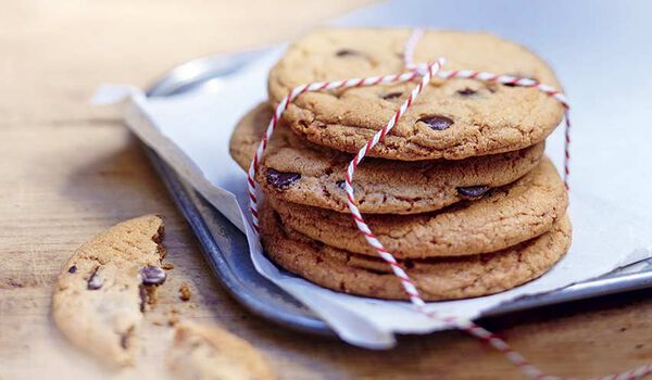 Pâte à cookie aux pépites de chocolat noir