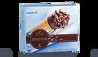 6 cônes chocolat