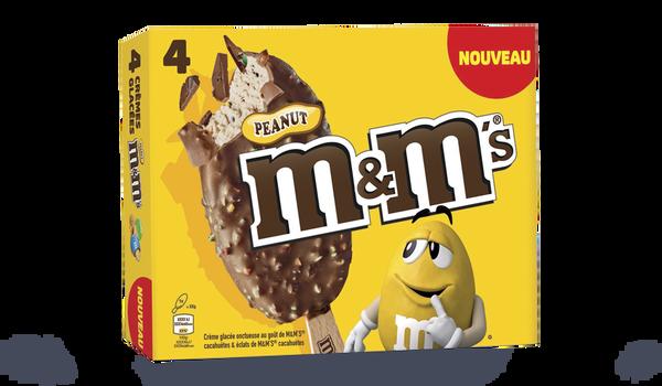 4 batonnets MM's peanut